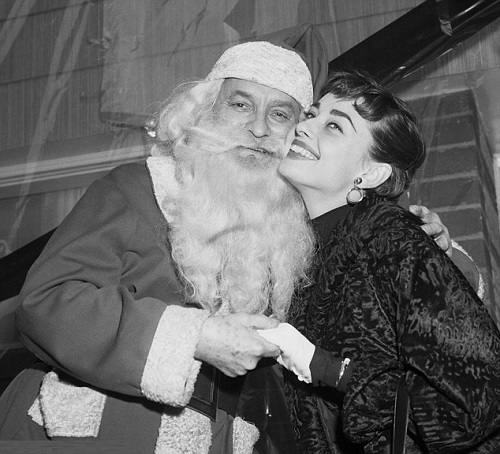 Christmas with vintage actresses