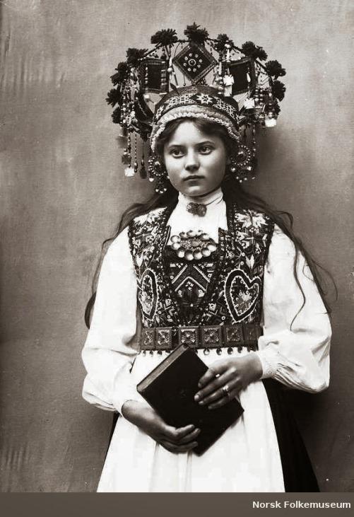 Norwegian bridal crowns