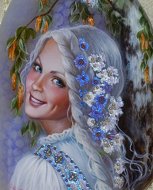 Lelia - Slavic maiden goddess of love
