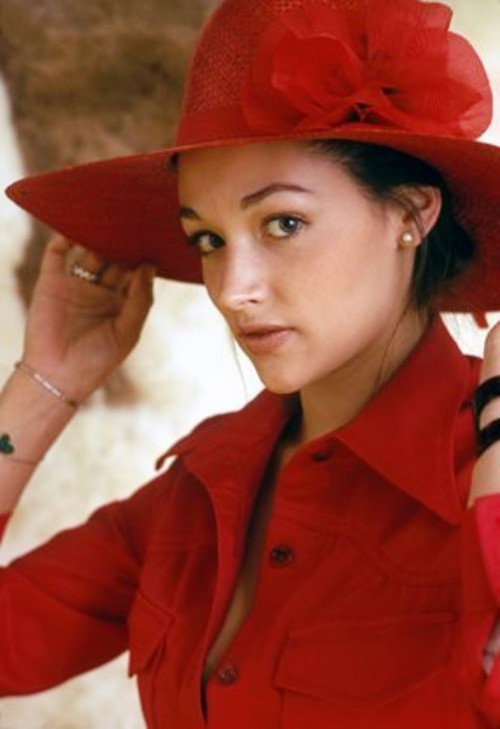 British actress Olivia Hussey