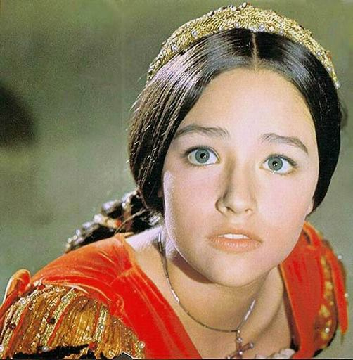 British actress Olivia Hussey - Beauty will save