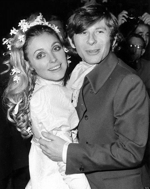Sharon Tate And Roman Polanski'S Wedding, In 1969