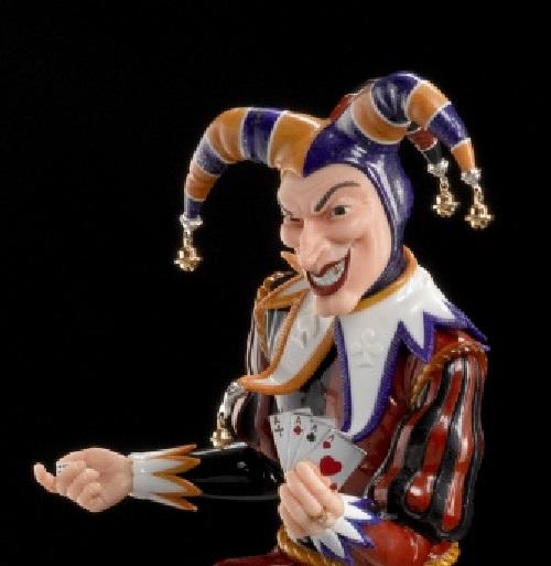Joker. Jewellery Design Studio Finix-M, Yekaterinburg, Russia