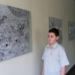 Dusan Krtolica 11 years, his fourth solo exhibition, Cultural Center of Novi Sad. 8 ~ 16 april of 2014