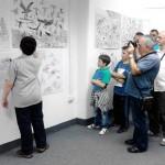 Exibition of a talented young Belgrade boy in Surdulica
