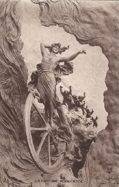 Diosa romana de la Fortuna suerte