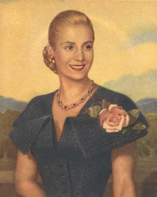 Evita Peron of Argentina