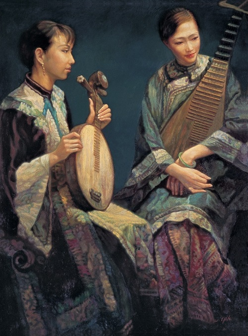 Realistic Painting By Chen Yifei Beauty Will Save