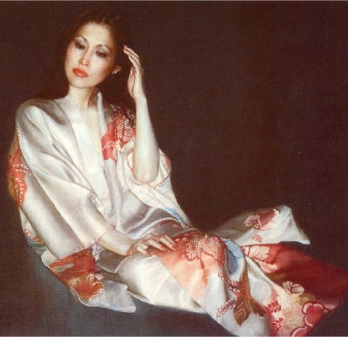 Realistic painting by Chinese artist Chen Yifei