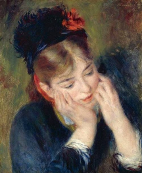 Reflexion, Ideal of beauty for Renoir