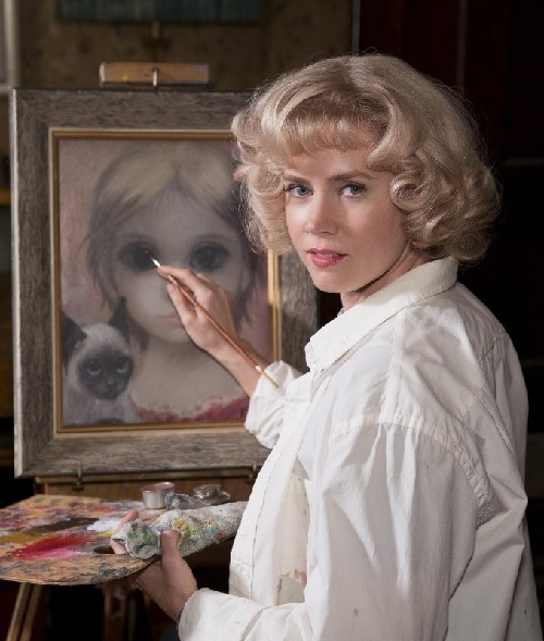 Stolen Big Eyes by Tim Burton, Margaret Keane (played by Amy Adams)