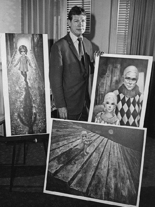 Keane and his best paintings