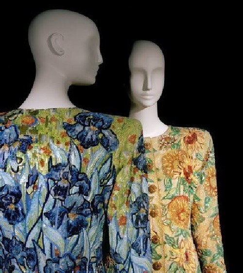 Famous 'Sunflowers' and 'Irises' Yves Saint Laurent