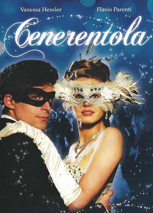 Vanessa Hessler as Cinderella in 2011 'Cenerentola' movie poster