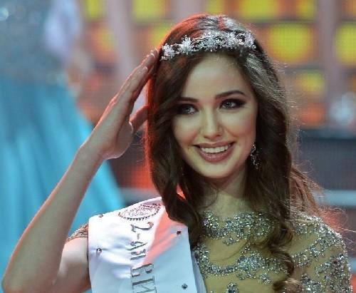 2014 Most Beautiful Women. Miss World 2014 partricipant Anastasia Kostenko
