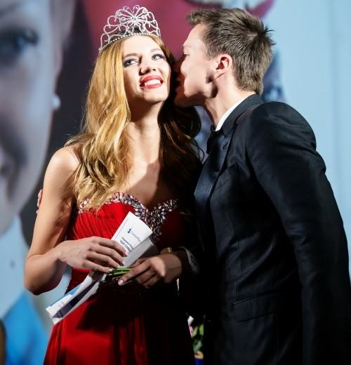 The final of beauty competition, 2014