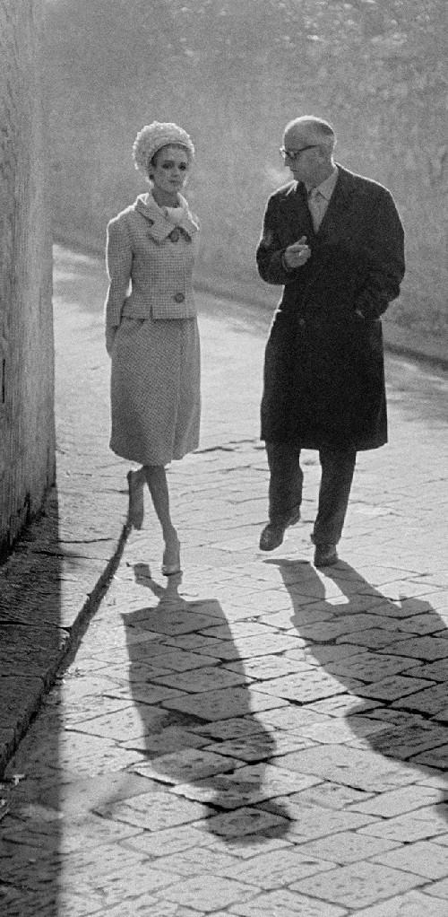 1961, Florence, for Harper's Bazaar, High Fashion with Deborah Dixon