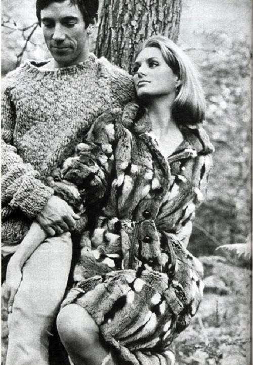 Donald Cammell and his beautiful wife – fashion model Deborah Dixon