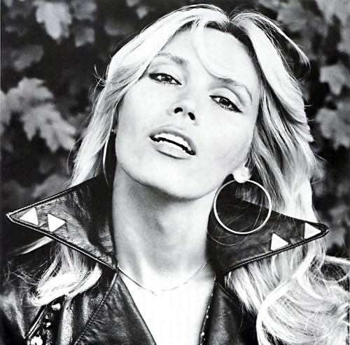 Angel of Salvador Dali Amanda Lear. French model, singer Amanda Lear