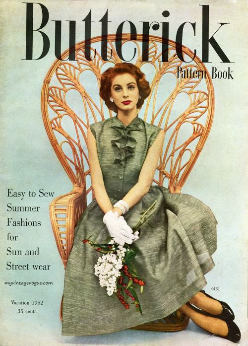 Butterick Pattern Book 1952