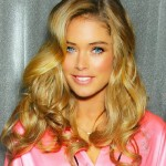 a wax figure of Doutzen Kroes decorate the Amsterdam branch of Madame Tussaud's wax museum