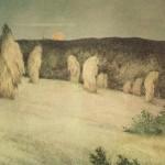 Painting by Theodor Severin Kittelsen (27 April 1857 – 21 January 1914), Norwegian artist