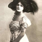 the most photographed actress, singer and model during the Edwardian era