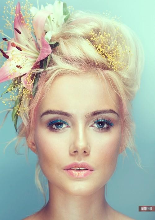 Alisa. Photographer Sergey Lenin. Model - Alisa Lineva. Make up & hair - Anna Goldman