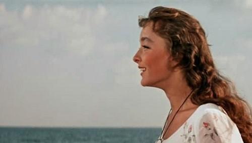 Anastasiya Vertinskaya as Assol in 'Scarlet Sails' - 1961 film by Alexander Ptushko