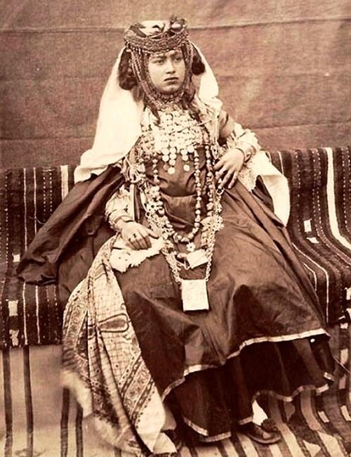 Berber tribal women old photo