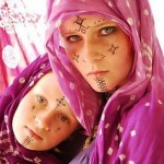 Berber women's tattoos