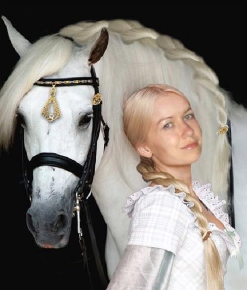Stylish horses hairstyles
