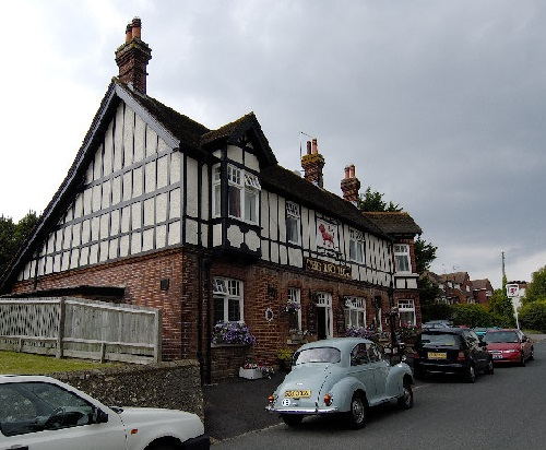 The Red Lion pub, Willingdon Village