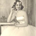 1957 photo of Henrietta Joan Tiarks