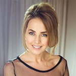 Pop singer Janna Friske (July 8, 1974 - June 15, 2015)