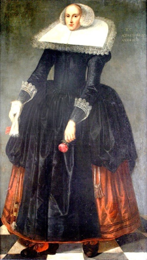 World Tallest women. The Big Virgin - Trijntje Keever (April 10 or 16, 1616 – July 22, 1633)