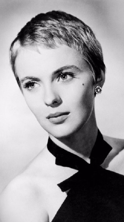 Stunningly beautiful Jean Seberg