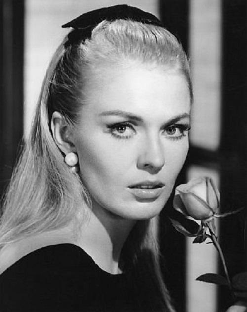 American actress Jean Seberg