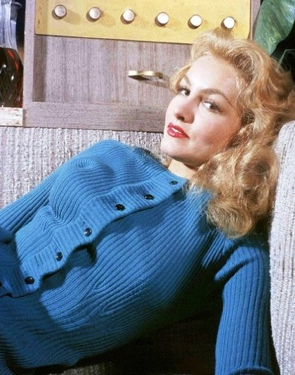 Blonde Julie Newmar