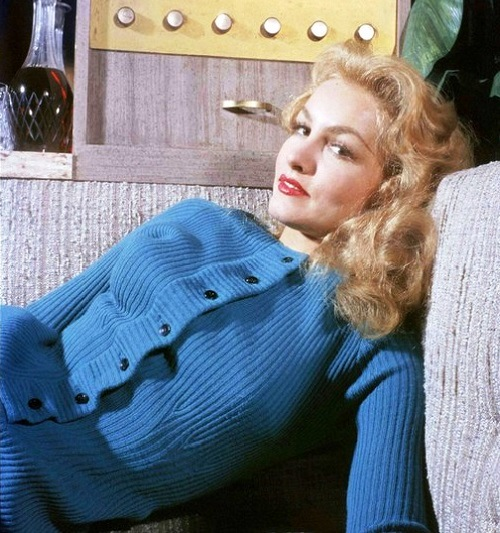 Blonde Julie Newmar