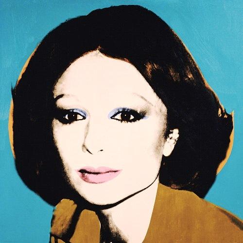 Andy Warhol's Farah Diba, c. 1977