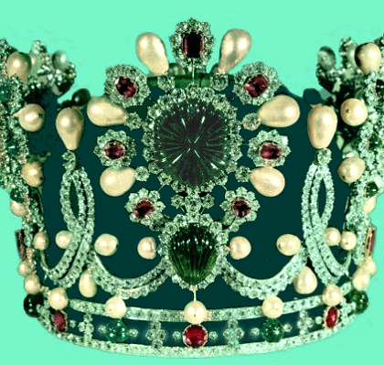 Crown (coronation) of Farah Pahlavi
