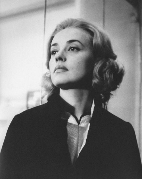 French actress Jeanne Moreau in 'Lift to the Scaffold' 1957 film