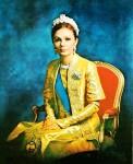 Beautiful Empress Farah Pahlavi