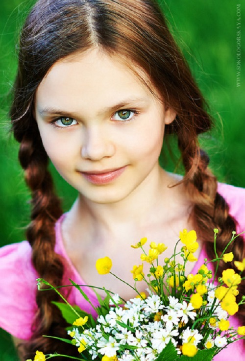 Beauty will save Beautiful child model Diana Pentovich - Beauty will ...