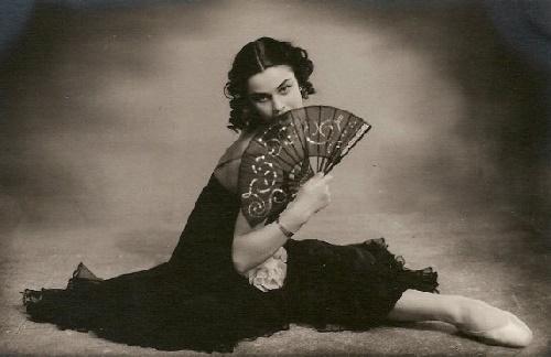 Ballerina of rare beauty Olga Zabotkina (1936-2001)