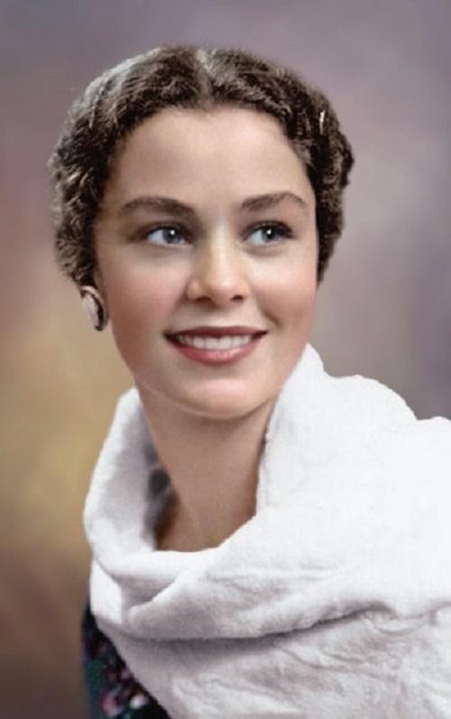 Soviet Russian actress and ballerina Olga Zabotkina