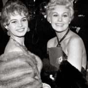 Brigitte Bardot and Kim Novak. Cannes film festival, 1956