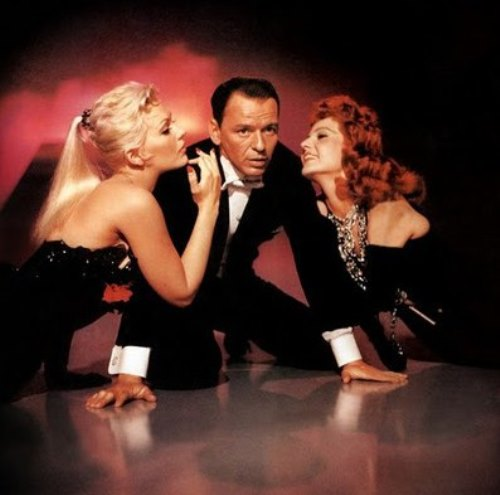 Frank Sinatra with Kim Novak and Rita Hayworth