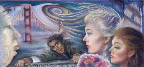 Painting by Novak. Vertigo / Vortex of Delusion